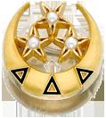 Delta Delta Delta Badge