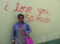 The famous wall in Austin.