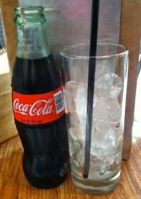 My favorite way to have a coke.
