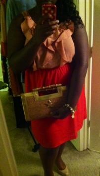 Target dress, Diane Kelly clutch, Steve Madden shoes