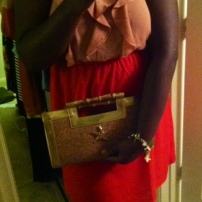 Target dress, Diane Kelly clutch, Steve Madden shoes