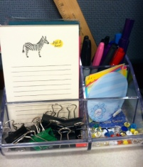 """Love me some office supplies. Zebra says, """"Get it done."""""""