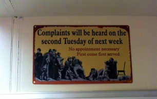 No one has time to sit around and listen to your complaints.