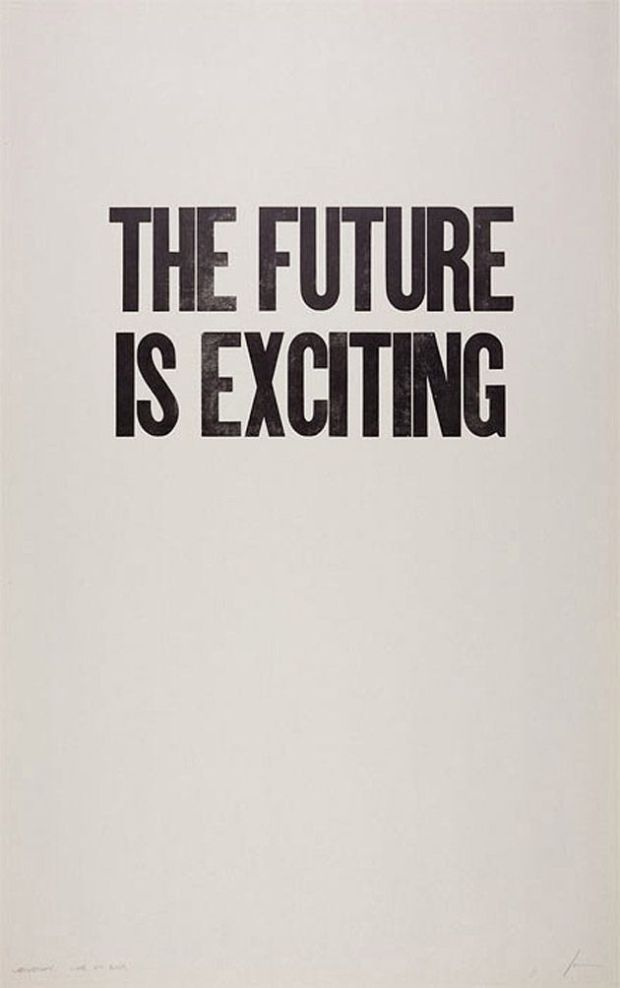 future is exciting