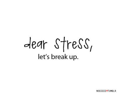 stress break up