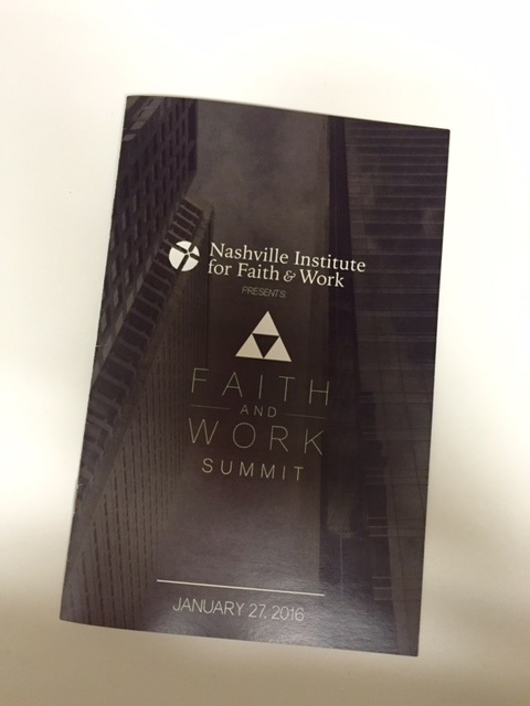 faith and work 1